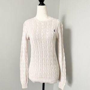 💖SALE‼️NWOT Ralph Lauren Cable Knit Sport Sweater